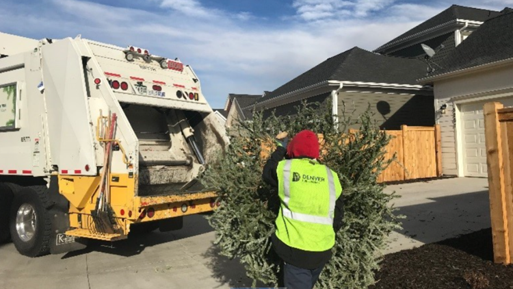 Here's where to recycle Christmas trees in the Denver metro area
