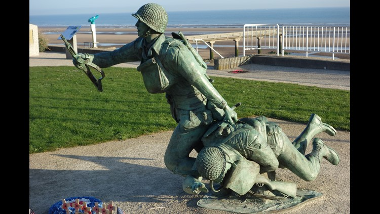 Reminders of D-Day, Omaha Beach