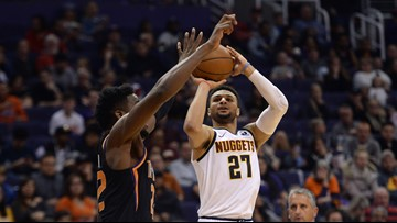 Murray scores 46 as Nuggets hold off Suns 122-118