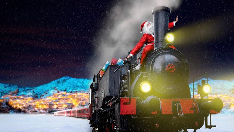 Festive Holiday Train Rides Across Colorado 9news Com