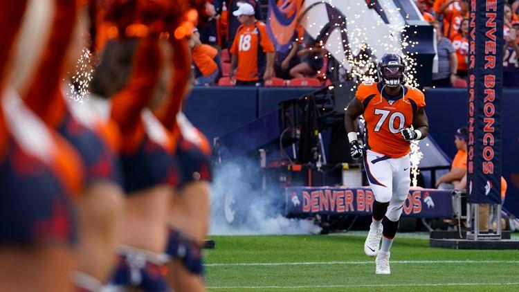 Broncos lose Ja'Wuan James to season-ending Achilles injury