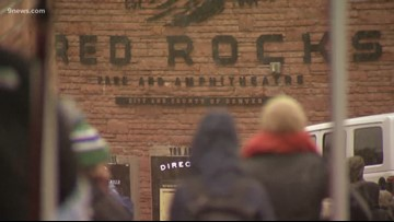 Spring snow didn't stop fans from enjoying this Red Rocks concert