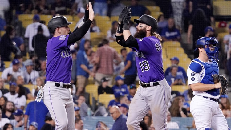 Rockies rally, win in 10th as Dodgers' bullpen woes continue