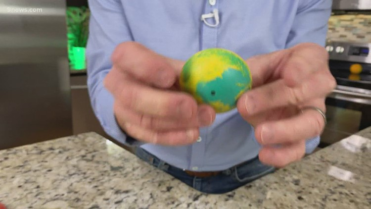 Science Minute: Bouncing rubber balls