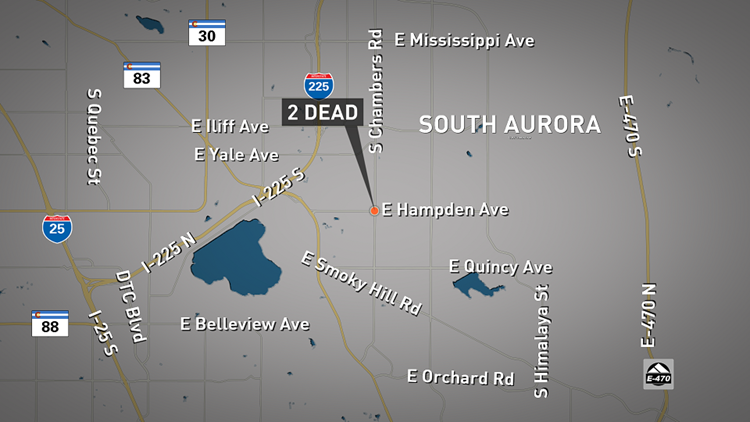 2 dead in south Aurora after car crash early Saturday