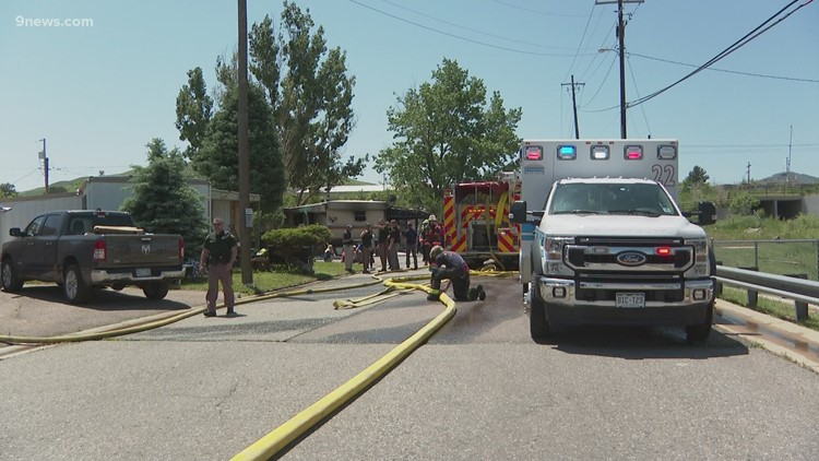 1 person dead, JeffCo deputy and 2 fire personnel injured in house fire