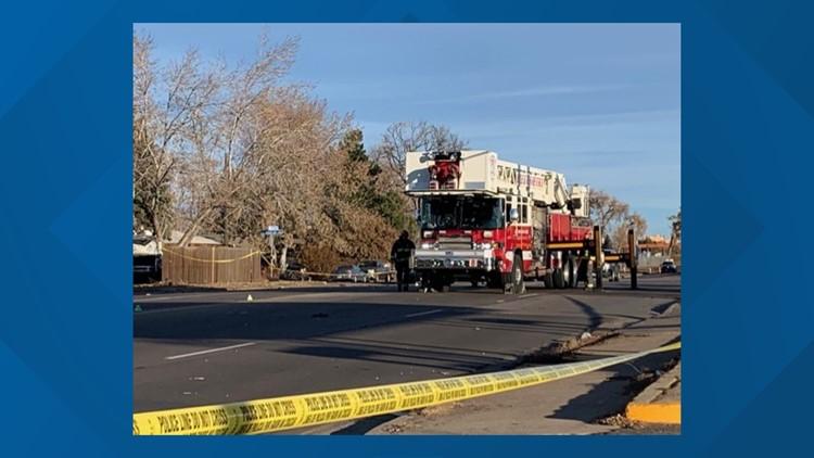 Fatal crash on Wadsworth Blvd.