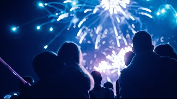 This is where you can watch fireworks on New Year's Eve in Colorado