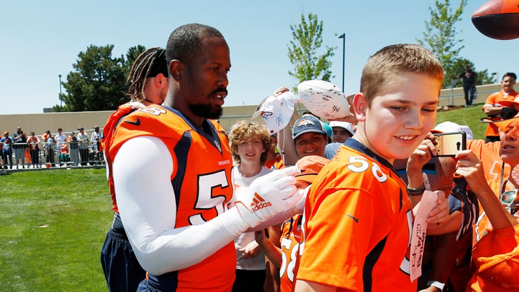 training camp broncos von miller 2019