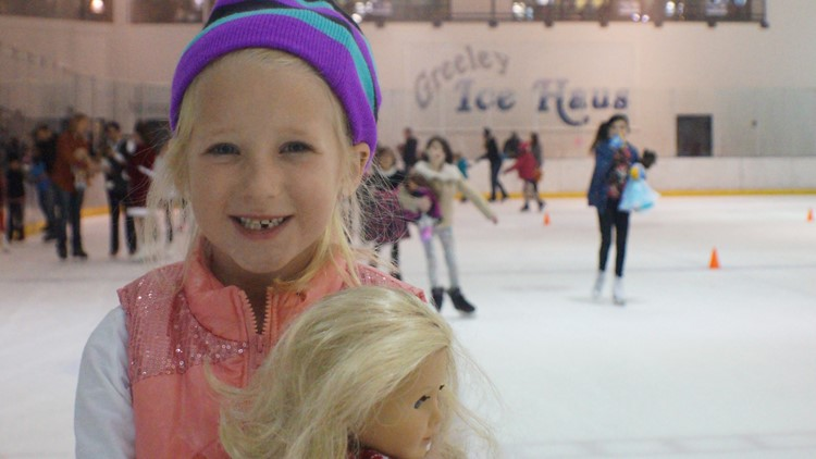American Girl Doll Skate this weekend