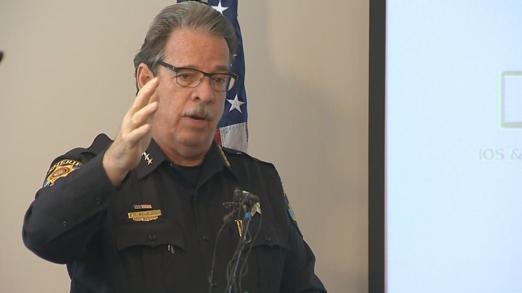 Douglas County Sheriff Tony Spurlock