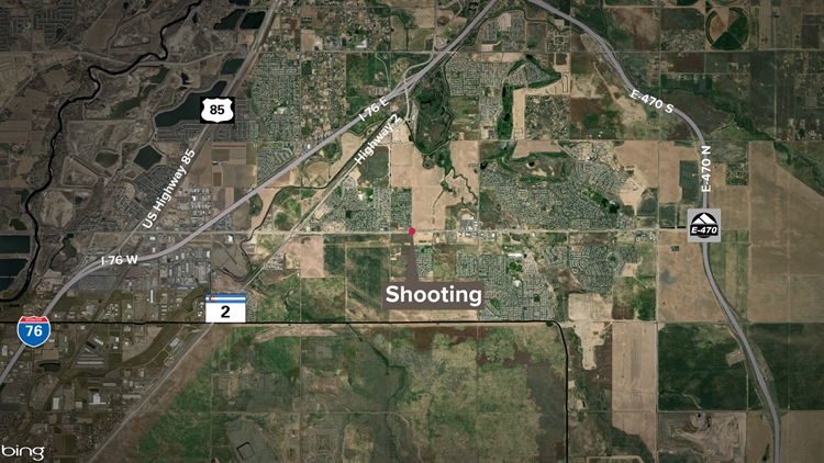 Commerce City shooting location map