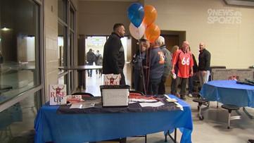 MIC'd Up: Broncos' Dalton Risner thanks his hometown of Wiggins