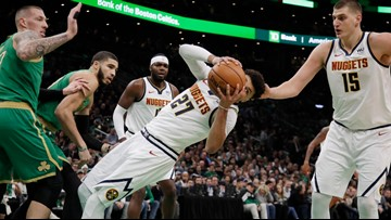 Tatum, Brown help Celtics beat Denver 108-95