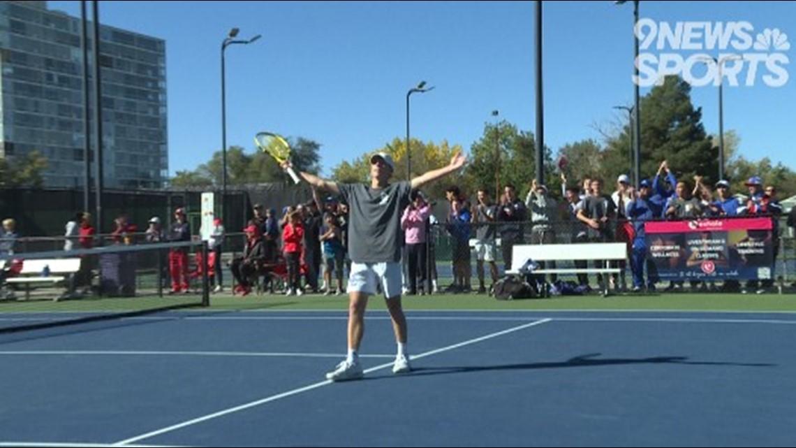 Aram Izmirian shines at 5A boys tennis state championship