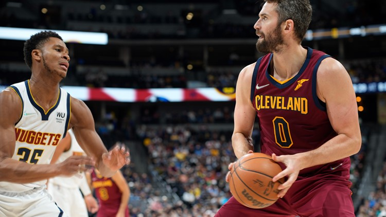 Love, Allen guide Cavaliers to 99-87 win over Nuggets