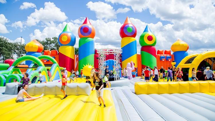 The Big Bounce America BigBounceAmerica inflatable