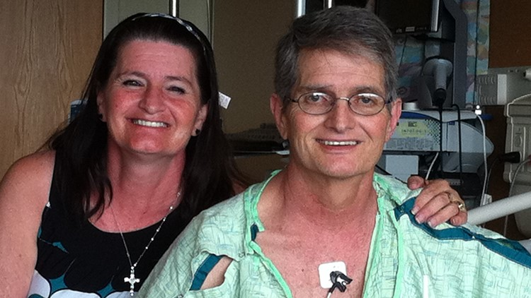 The bionic man: One of Colorado's longest-living LVAD patients is making the most of his time