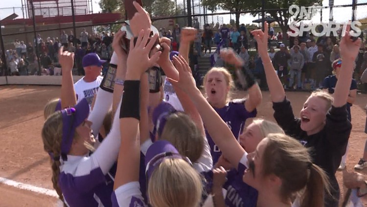 Lutheran claims 3A softball championship in dominant fashion