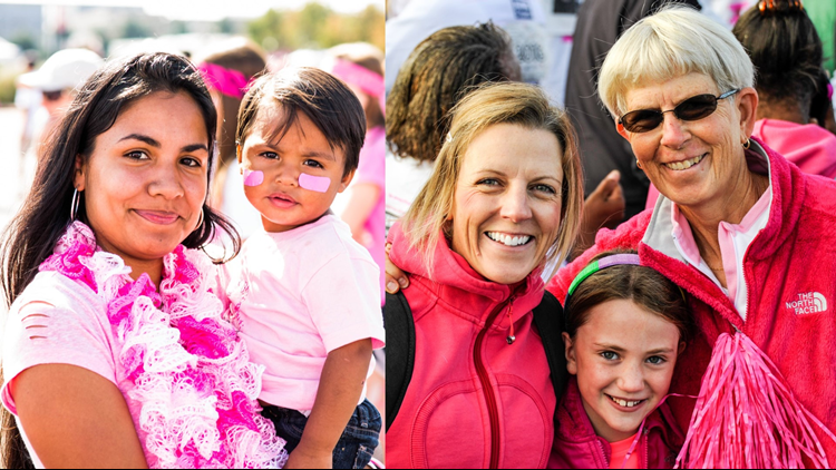 Susan G. Komen Colorado  Race for the Cure  more than pink walk