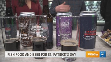 Try pairing your beer with some tasty food on St. Patrick's Day