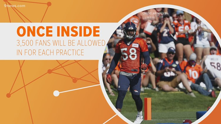 What to know before attending Broncos Training Camp