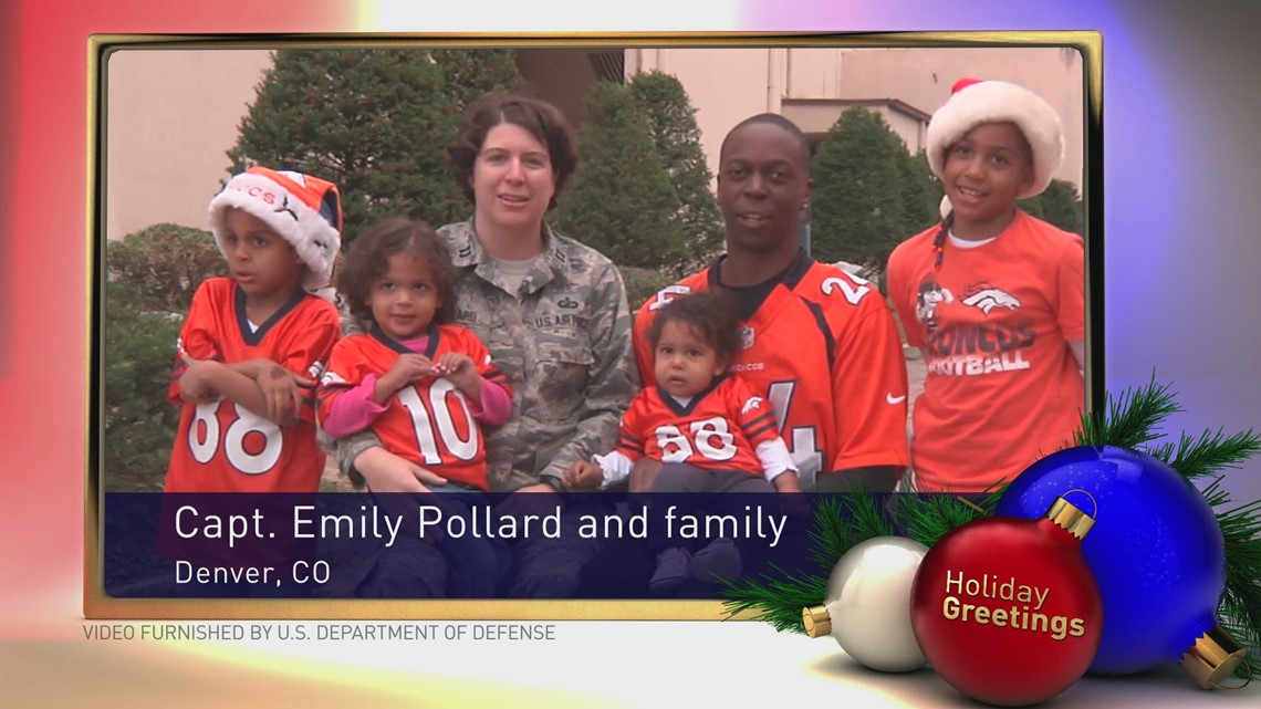 A holiday greeting from captain emily pollard and family 9news m4hsunfo