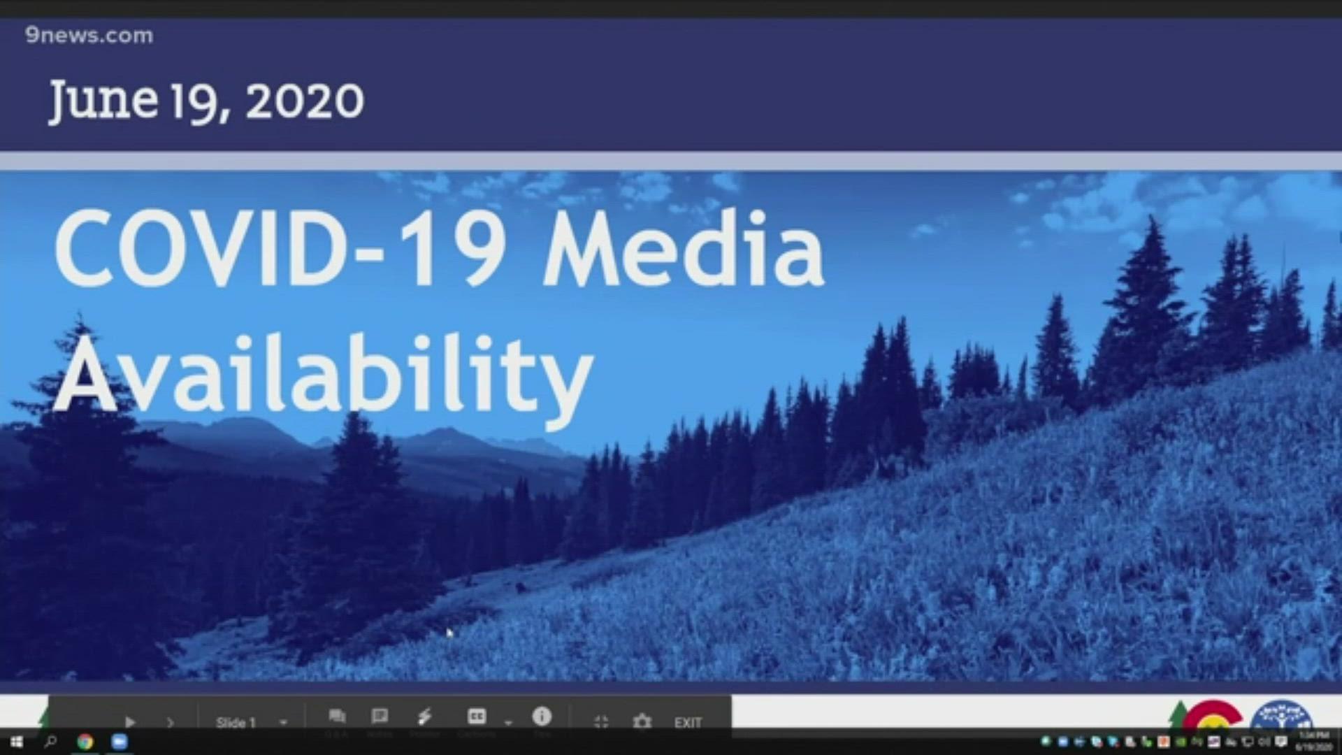 Colorado Coronavirus Health Officials Tourism Office Update 9news Com