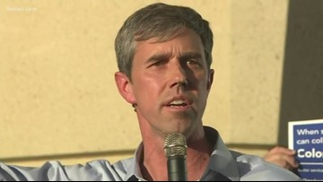 RAW | Beto O'Rourke holds town hall meeting in Aurora