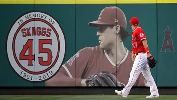Coroner: Angels pitcher Skaggs died of accidental overdose