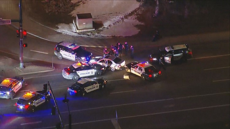 2 in custody after early morning pursuit in Westminster
