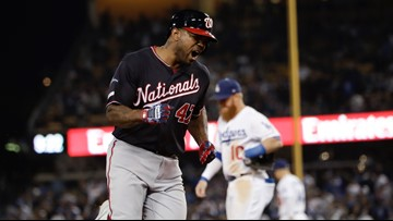 Nationals hit 10th inning grand slam, knock Dodgers out of 2019 playoffs