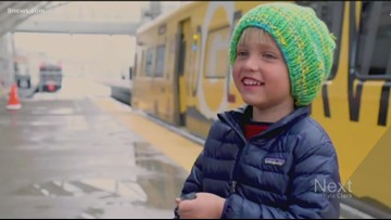 RTD helps 4-year-old in Arvada get his dream G-Line-themed birthday party