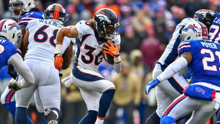 Broncos Bills Football Phillip Lindsay