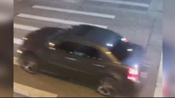 Photo released of vehicle, person of interest in hit-and-run that injured pedestrian
