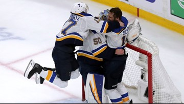 Blues win 1st Stanley Cup, beating Bruins 4-1