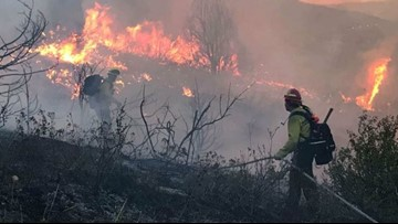 Deer Creek Canyon Park Fire 100% contained, evacuations lifted