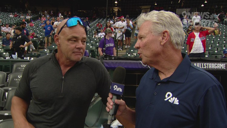 Catching up with former Rockies outfielder Dante Bichette