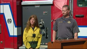 Deer Creek Canyon Park Fire now 50% contained