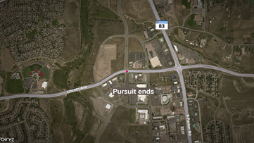 14-year-old in custody after leading DougCo deputies on chase
