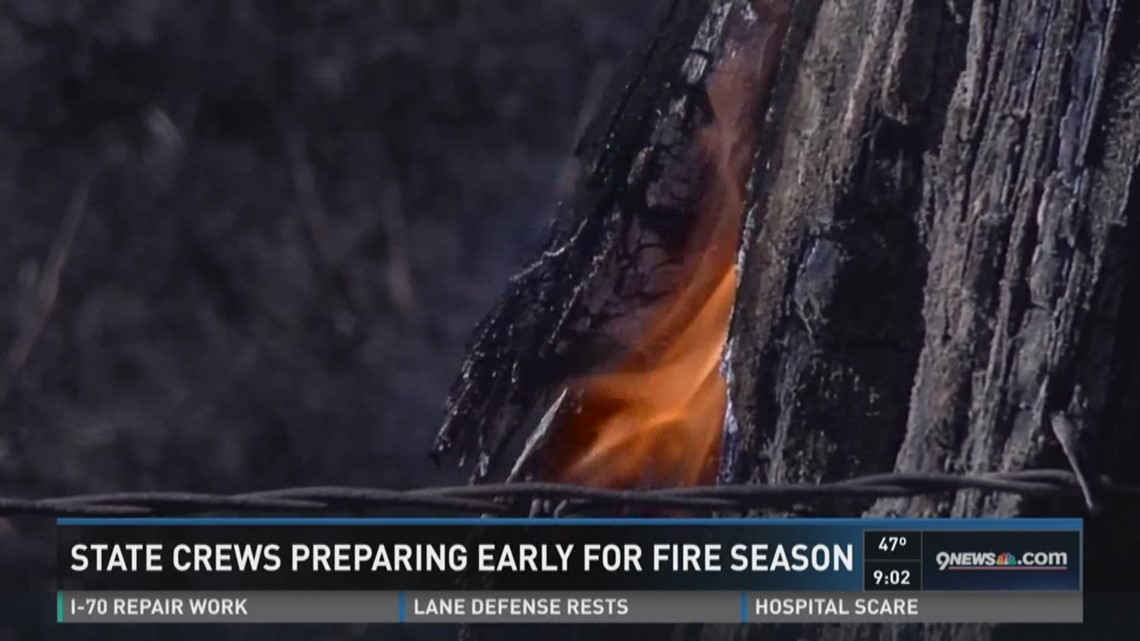 State crews preparing early for fire season