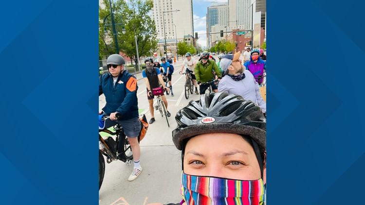 People protest for safer streets at Denver Skate Park