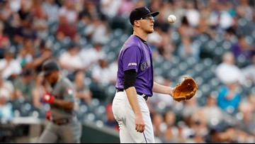 Jeff Hoffman's latest stint with the Rockies lasts fewer than 24 hours