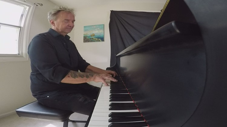 Boulder musician finds new way to share his music — from under the piano