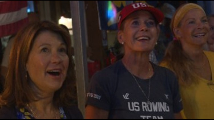 Evergreen community rallies to celebrate Kendall Chase in Olympics