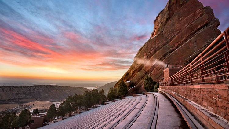 Red Rocks Amphitheatre sunrise thinkstock GETTY 2