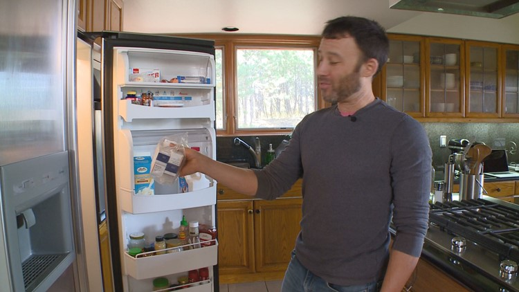 Brian Novak is holding $1,800 worth of insulin in his fridge.