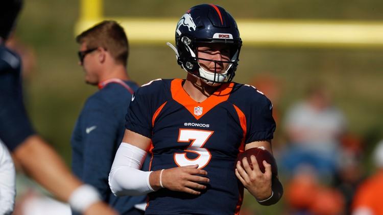 Broncos Football Drew Lock