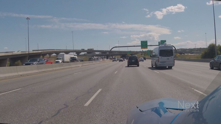 The 5 options CDOT's considering to fix a crowded portion of I-25