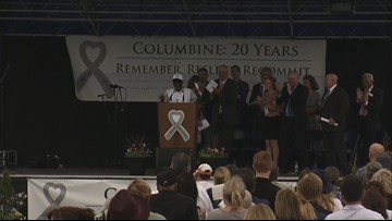 'Healing takes work': Survivors, families gather 20 years after Columbine